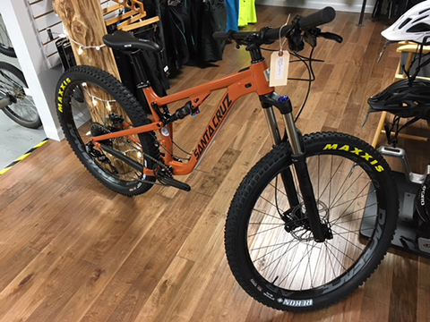 Santa Cruz Tallboy Mountain Bike